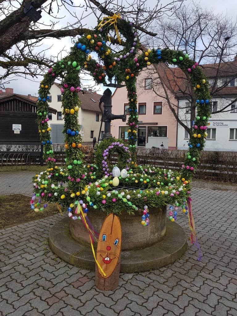 Osterbrunnen in Fischbach